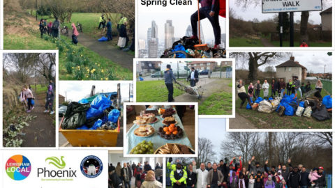 Downham and Whitefoot Spring Clean 2017