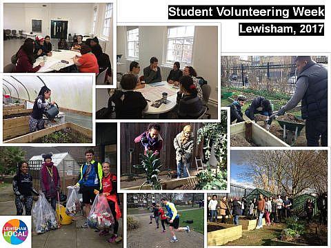 Student Volunteering Week 2017