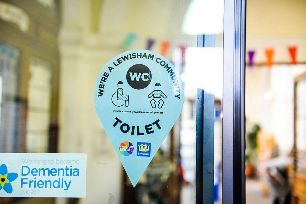 Corbett toilet sticker