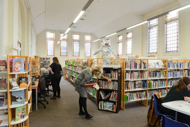 Corbett-library-books