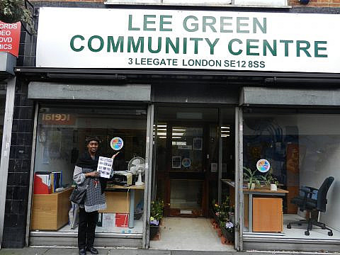 Lee Green community centre – Welcome Day