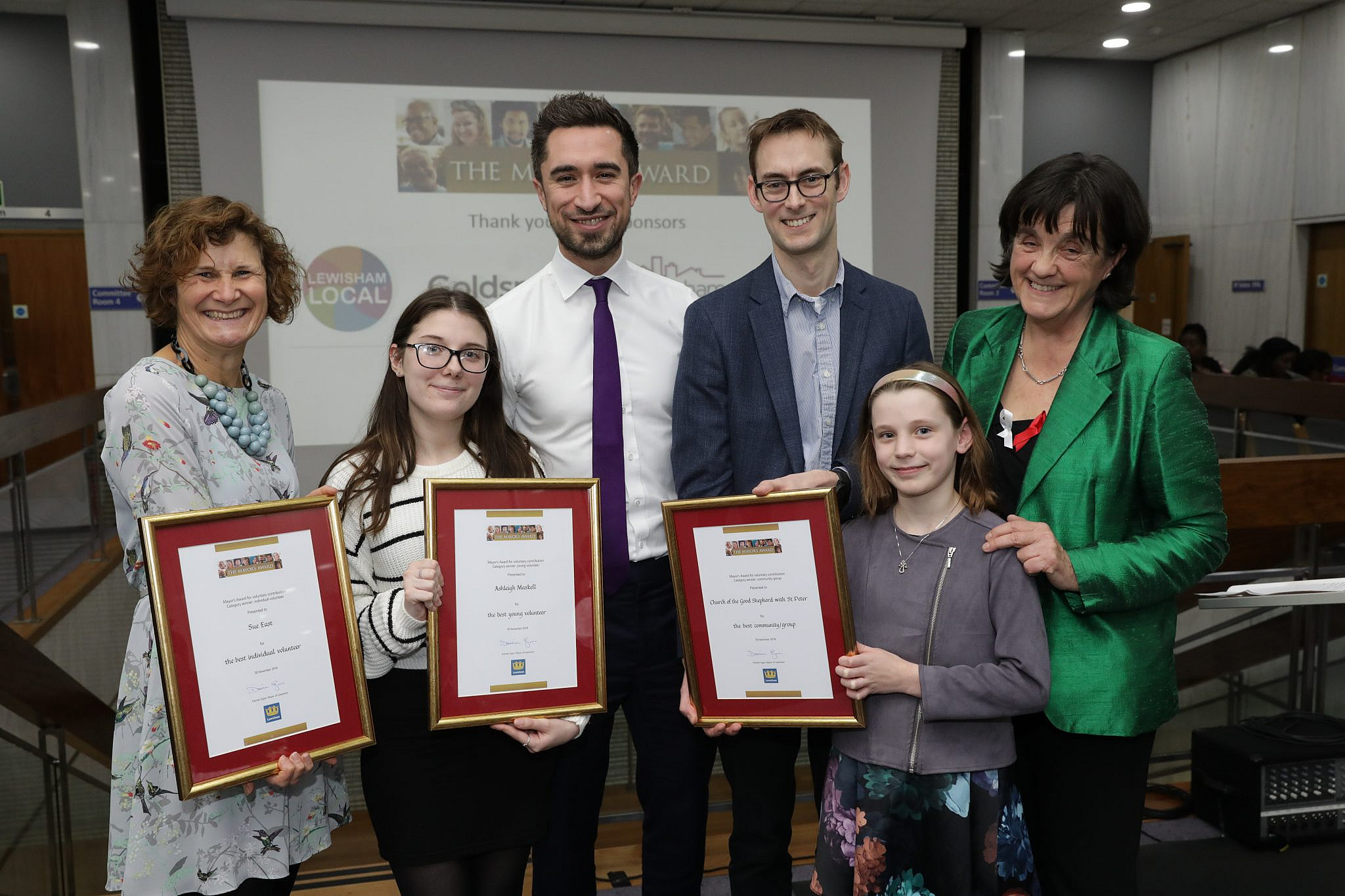 Mayors Awards For Volunteering 2018 Lewisham Local