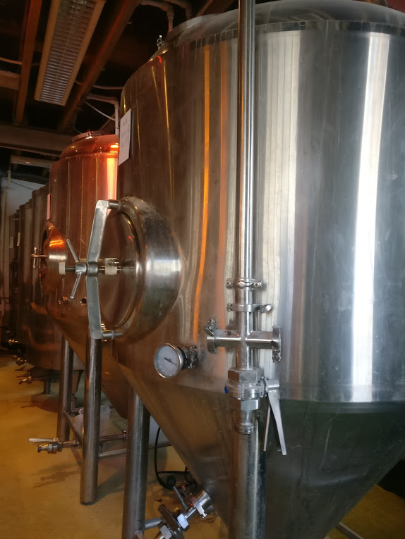 Brockley-Brewery-beer-tank