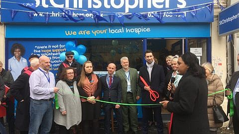 St Christopher's Hospice charity shop has opened in Catford