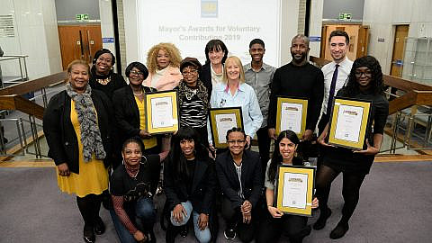 Lewisham's volunteers celebrated at annual Mayor's Awards