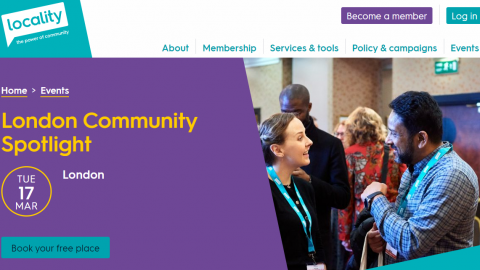 New programme to strengthen and support London community organisations!
