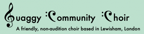 Free Singing with the Quaggy Community Choir