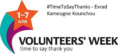 #TimeToSayThanks – Evrad Kameugne Kounchou