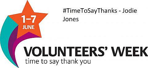 #TimeToSayThanks – Jodie Jones