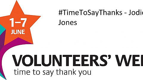 #TimeToSayThanks – Jodie Jones