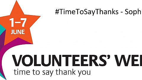 #TimeToSayThanks – Sophie