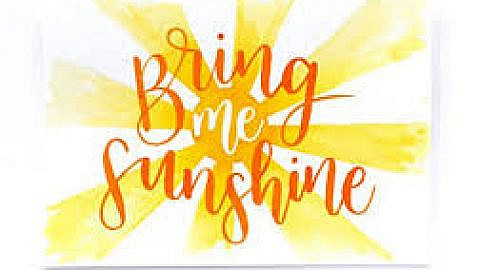 Bring Me Sunshine – a profile