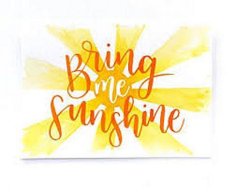 Bring Me Sunshine – a profile
