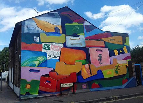 Apply to the Lewisham School of Muralism
