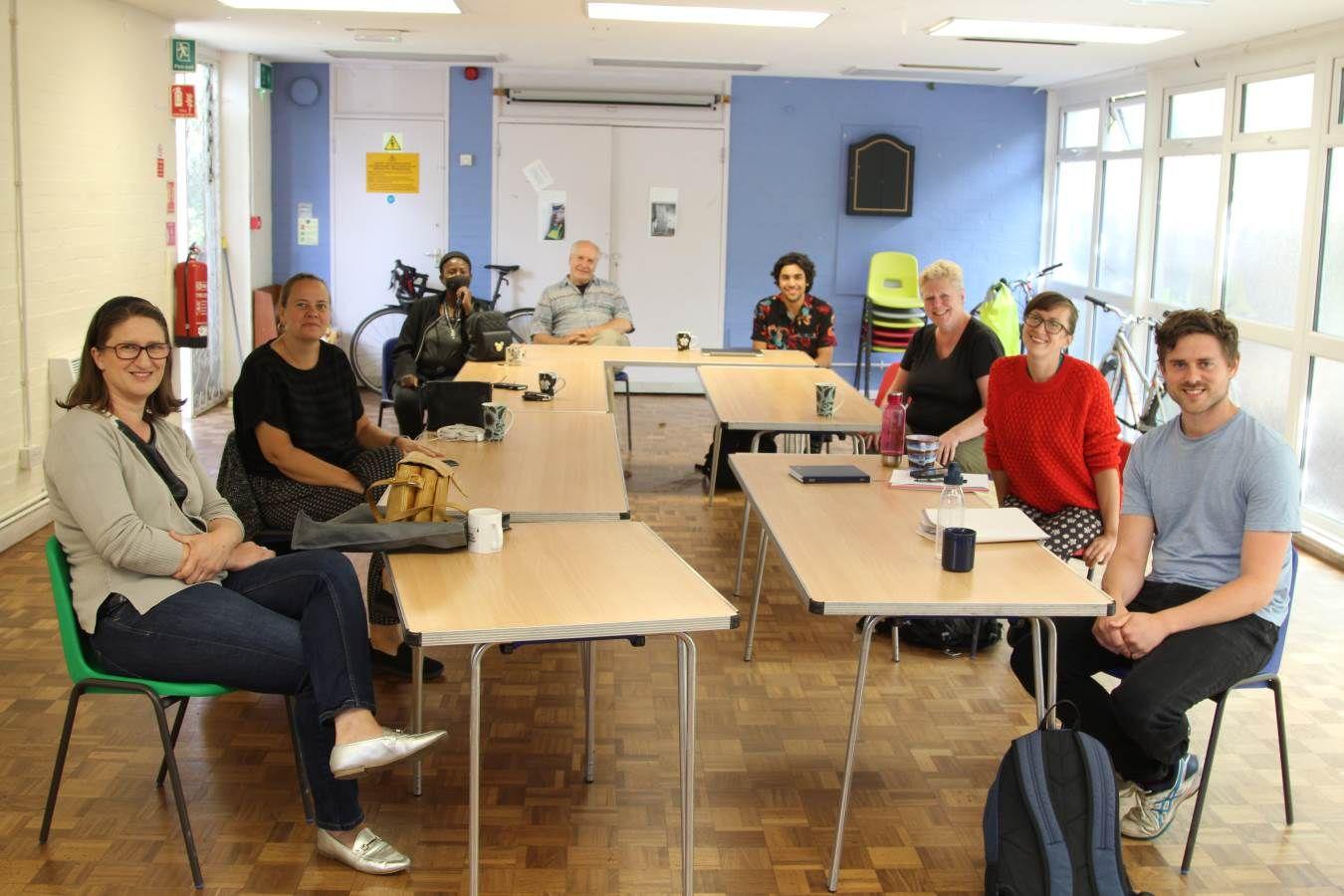 rgtb team pic ewart hall social distancing august 2020